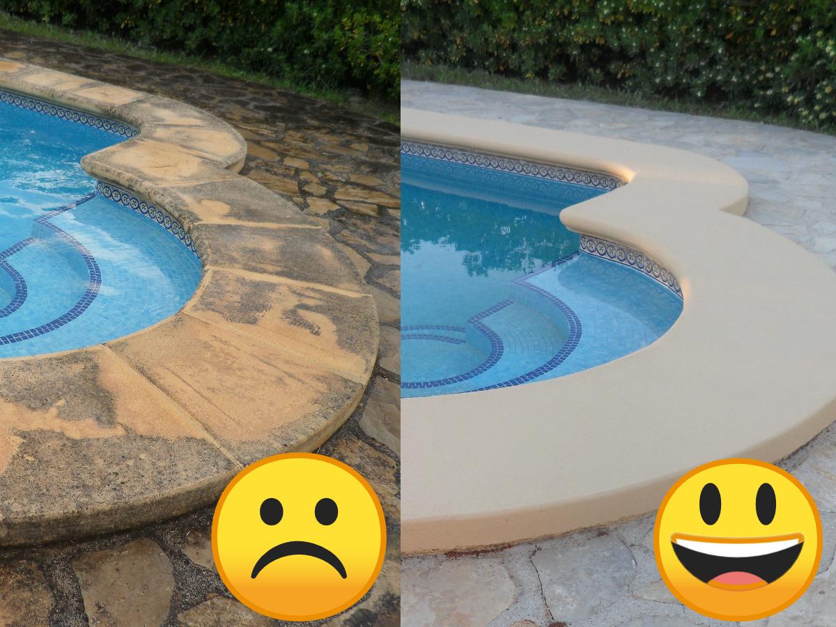 corona pool repair Javea Moraira